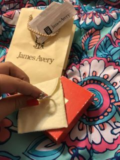 James Avery ring. T