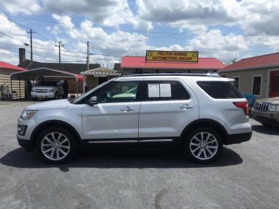 2017 Ford Explorer Limited (Silver Or Aluminum)