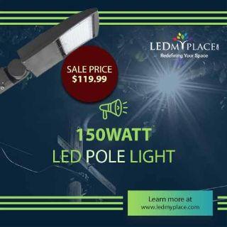 LED Pole Lights -