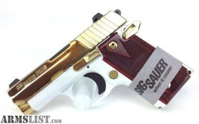 Want To Buy: Sig P238 White & Gold