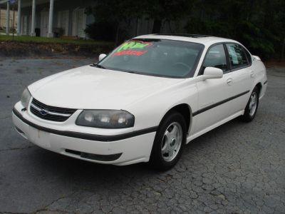 2002 Chevrolet Impala LS (WHI)