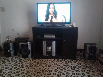 TV,DVD,STEREO AND POWER SPEAKER