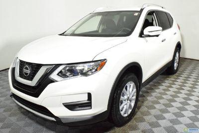 2018 Nissan Rogue AWD SV (white)