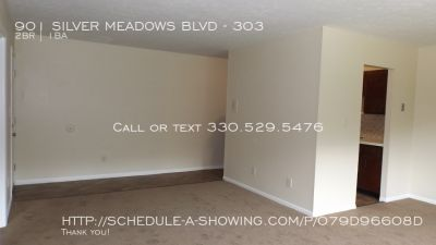2 BEDROOM FOR RENT IN KENT ON SIVLER MEADOWS BLVD.