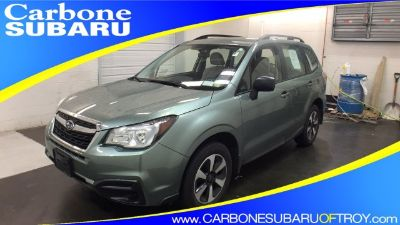 2017 Subaru Forester 2.5i (Jasmine Green Metallic)