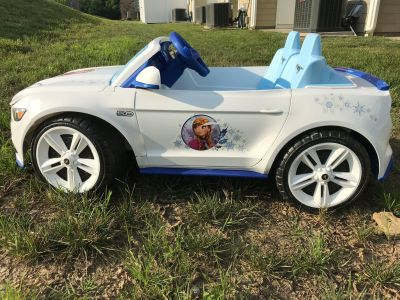 Power Wheels Frozen Mustang