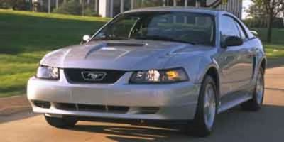2002 Ford Mustang Base (Sonic Blue)