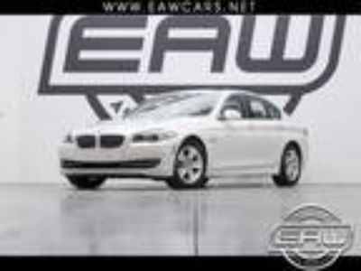 2011 BMW 5-Series 528i 46434 Miles White 3.0L L6 DOHC 24V Automatic