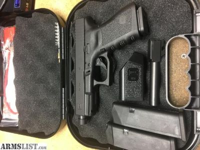For Sale: Glock 23 Gen3 with factory threaded barrel suppressor sights
