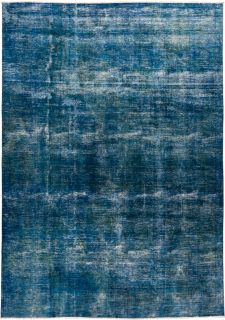 """Vintage, Hand Knotted Area Rug - 8' 8"""" x 12' 1"""""""
