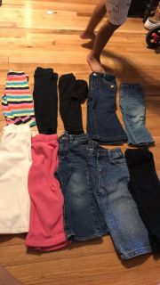 18 month 10 pairs of pants