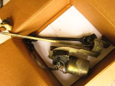 Find YUGO GVX GV other wiper motor & transmission linkage parts complete good shape motorcycle in Concord, Massachusetts, US, for US $25.00