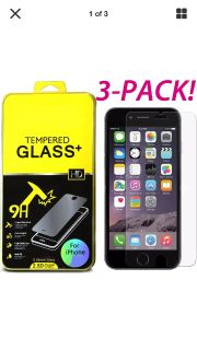 iPhone 7/7sPlus,6/6s Plus New screen protector TEMPERED GLASS