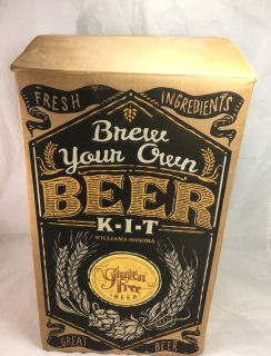 Williams Sonoma Brew Your Own Beer Kit TOOLS ONLY Barware Party Family Fun