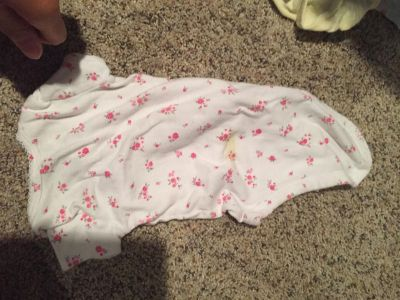 3m floral onesie, free with purchase