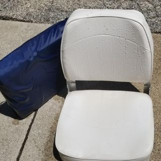 Boat seat and life float seat. Bartonville pick up