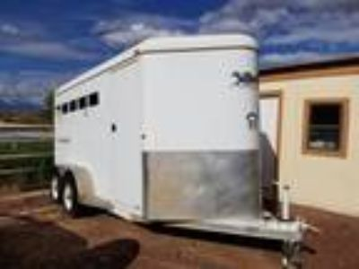 2006 Western World Brand Three Horse Trailer Circle J Model