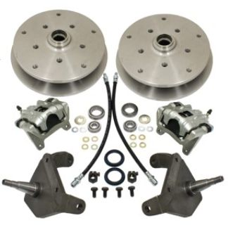DROP SPINDLE 5/205 FRONT DISC BRAKE KIT