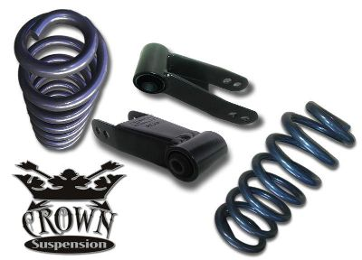 "Purchase 2004-2012 F150 Crown Suspension 3/3"" Lowering Drop Kit Springs Shackles motorcycle in Brea, California, US, for US $190.00"