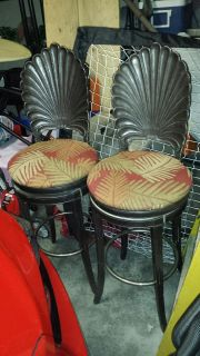 2 bar stools 28.5 in height seat