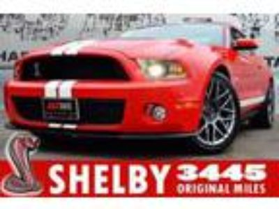 Used 2011 Ford Mustang Shelby GT500 Coupe