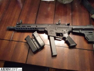 For Sale: 9mm ar15 need gone by tomorrow!