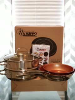 New!! Nuwave 2 induction cooktop (2 bases included)