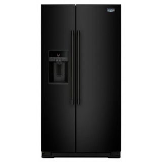 Maytag 26 cu. ft. Side by Side Refrigerator MSS26C6MFB/W Closeout