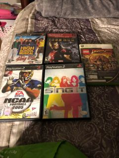 PlayStation 2/ Xbox 360 Video Games
