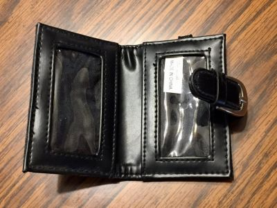 Black Key Ring Wallet