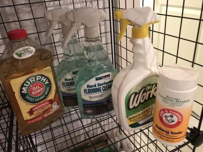 New cleaners