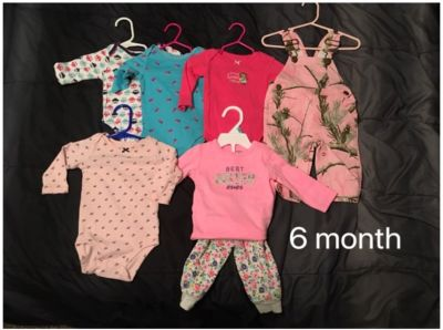 Baby girl 6 month clothes