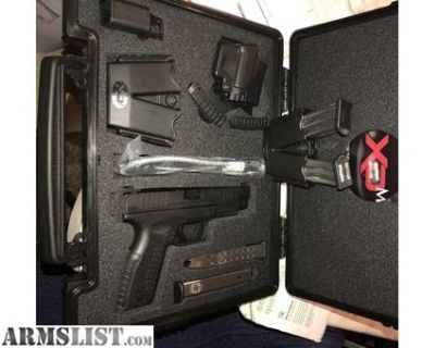 For Sale: SPRINGFIELD XD(M) 9MMM
