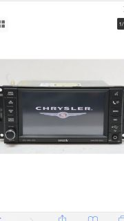 CHRYSLER, DODGE & JEEP FACTORY NAVAGATION RADIO