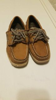 Sperry Velcro Boat Shoes size 11.5