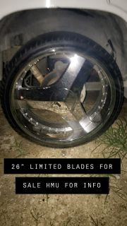 26 LIMITED BLADES