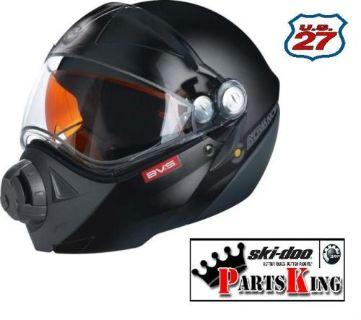 Purchase New OEM Ski-Doo BV2S Snowmobile Helmet For Sale | 2XL | Black | 4474041493 motorcycle in Saint Johns, Michigan, United States, for US $449.99