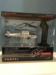 Propel Air Combat Helicopter w/Remote