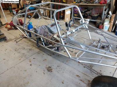 Aluminum sand rail chassis