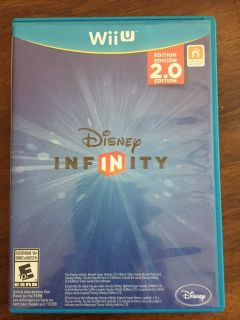 Disney Infinity - 2.0 Edition (Nintendo Wii U, 2014) Plus Figures