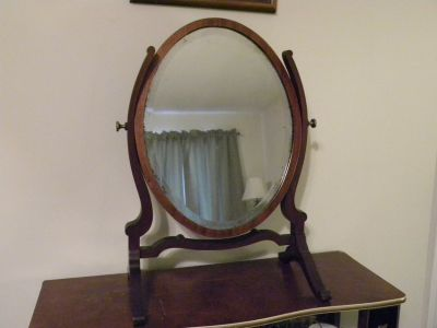 Antique Shaving Mirror