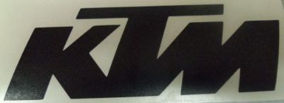 "Find KTM MOTORCYCLE DECAL STICKERS Set 2"" x 6 & 1"" x 3"" (2 DECALS OF EACH) BLACK motorcycle in Wooton, Kentucky, United States, for US $8.95"