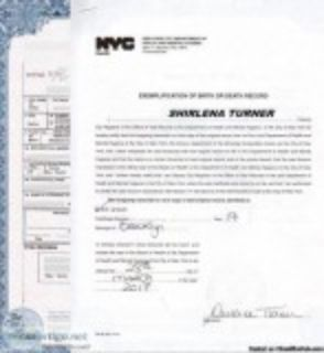 NYC BIRTH CERTIFICATE SPANISH TRANSLATIONS (hrs)