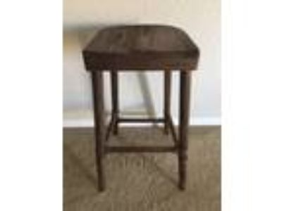 Dark Wood Barstool