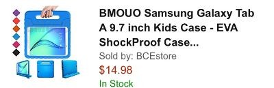 9.7inch Kids Case For Tablet NEW