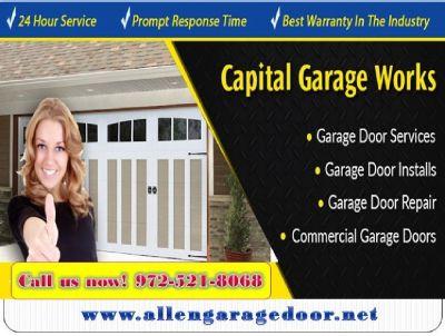 Local 1 hrs Garage Door Spring Repair Services ($25.95) Allen|Dallas, 75071,TX