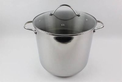 NEW Tools of the Trade Stainless Steel 20 Quart Covered Stockpot