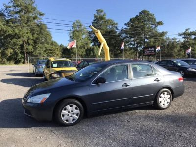 2003 Honda Accord LX (BLK)