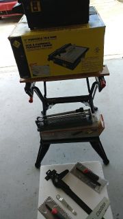Wet Saw, Tile Cutter Trowels and a Jambsaw Tiling Tools