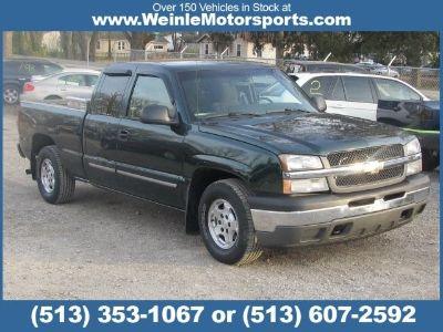2003 CHEVROLET Silverado 1500 LS EXT CAB 4D